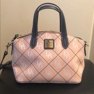 Pink Dooney and Bourke crossbody bag
